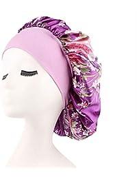 1629bc88f93 Thboxes Samrt Beautiful Women Girls Soft Hair Bonnet Sleeping Cap purple