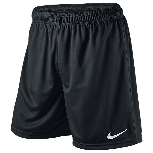 Nike Herren Park Ii Knit Shorts ohne Innenslip, Schwarz (Schwarz/Weiß/010), Gr. M