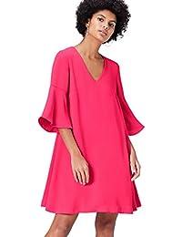 FIND Robe Trapèze Femme