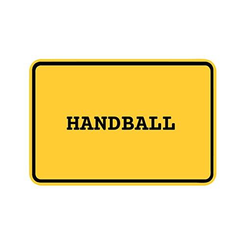 JOllify Aufkleber - Handball – Farbe: Design: Ortsschild