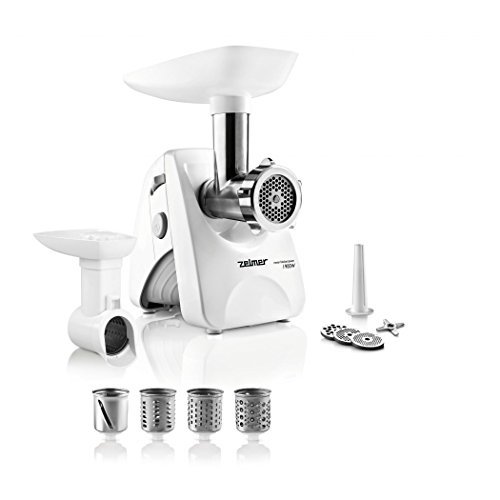 Zelmer MM1200.84 Meat Mincer & Sausage Maker with Vegetable Chopper, 650 W – Symbio