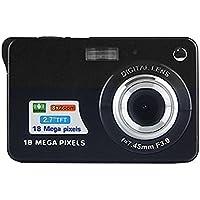 Digital Camera,CamKing CDC3 2.7 inch TFT LCD HD Mini Digital Camera (Black)