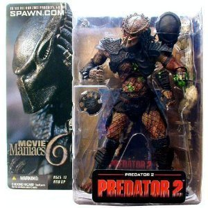 McFarlane-Movie Maniacs- Series 6-Predator 2 Movie-Predator 2 action figure w/custom accesories by Unknown