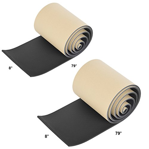 DEDC Protection Mural Garage Mousse Protection Garage Anti Choc pour Protection Voiture Garage avec 2 Bandes 200 x...