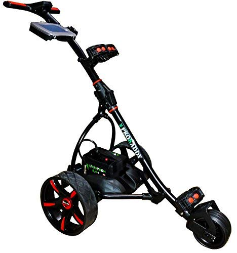 Carro eléctrico Golf Pro Kaddy Modelo S1T2NL Negro