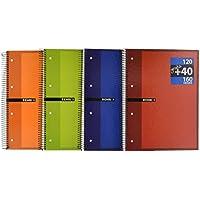 Enri 100430093 - Pack de 5 cuadernos de espiral de tapa dura