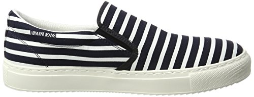 Armani Jeans 9350647p404, Mocassins homme Mehrfarbig (blubianco All Over)