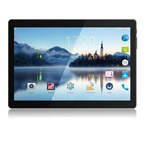 Android Tablet 10,1 Zoll PADGENE 16G Speicher 1G RAM Quad-Core CPU Tablet PC Dual Kamera 2MP und 5MP Dual-SIM Slots USB/SD IPS HD 1280x800 WiFi/3G Entsperrt Bluetooth 4,0 GPS Telefonfunktion