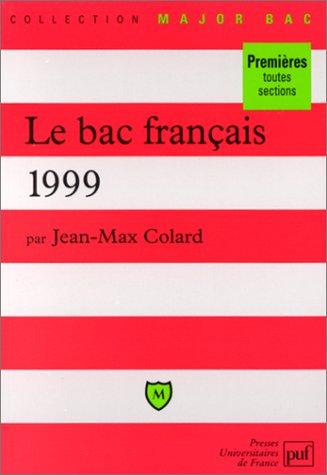 le-bac-de-franais-1999