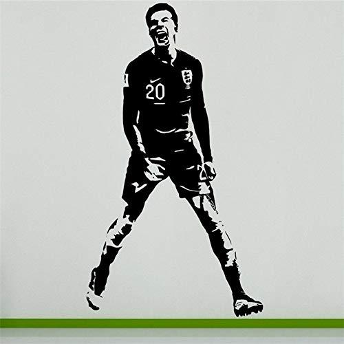 Cristiano ronaldo wandaufkleber aufkleber fußball fußballspieler portugal kreative vinyl Kunst Dekor Wohnkultur Wandaufkleber 58 * 103 cm
