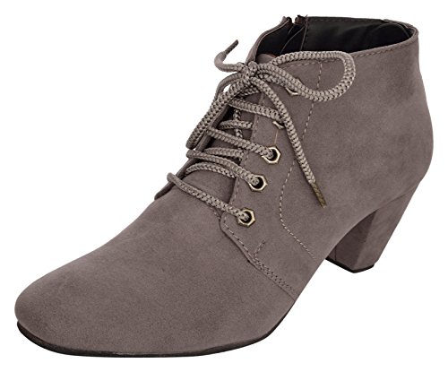 Exotique Women's Grey Boots - 39 EU