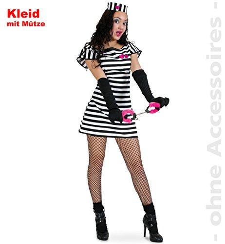Sträfling Sweet Stripe Kleid ()