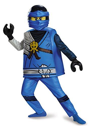 Kostüm Lego Ninjago Jay - LEGO Ninjago 98123l Jay Deluxe Kostüm (kein 4-6 jahre)