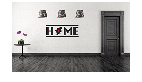 Buy Peacockride Tamilnadu My Home Wall Decal Large Black Online At Low Prices In India Amazon In