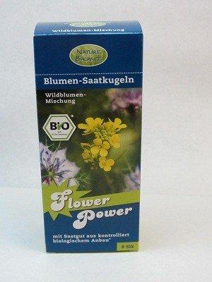 8 Saatkugeln Biosamenbomben Samenbomben für Guerilla Gardening Blumensaatkugeln - Kräutermischung (Guerilla-gardening)