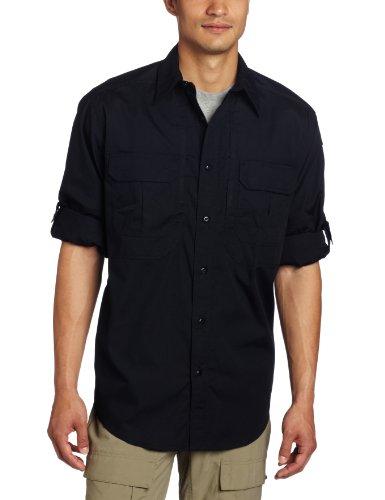 Blau Kurzarm-tactical Shirt (5.11Herren Taclite Professional Langarmhemd, Herren, TacLite Professional, Dark Navy, xxxl)