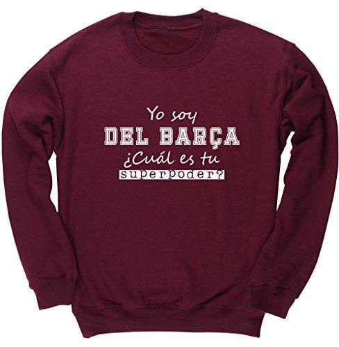 HippoWarehouse Soy del Barça, ¿Cuál es tu Superpoder? jersey sudadera suéter derportiva unisex niños niñas