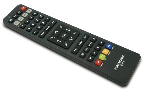 Metronic 495392 ZAP4 - Mando distancia universal TV
