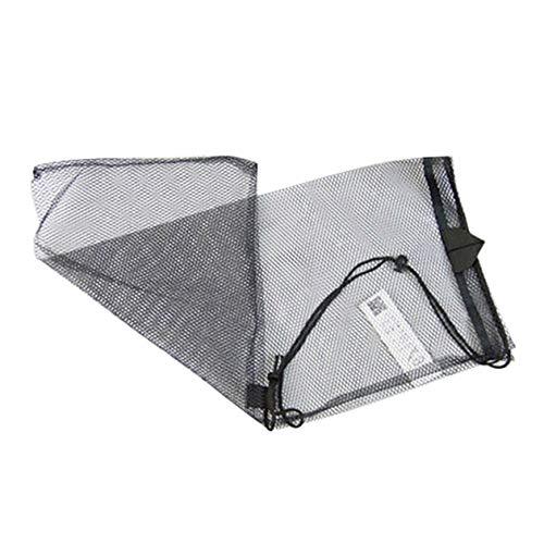 HONZIRY Bolsa de Malla de Secado rápido Bolsa de Equipo de Buceo Tipo de cordón Bolsa de Almacenamiento para Equipo de Snorkel Máscara Conjunto de Snorkel Aletas Bolsa de Red (Color: Negro)