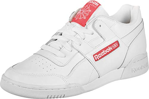 Reebok Workout Plus MU Schuhe White/Bright Rose -