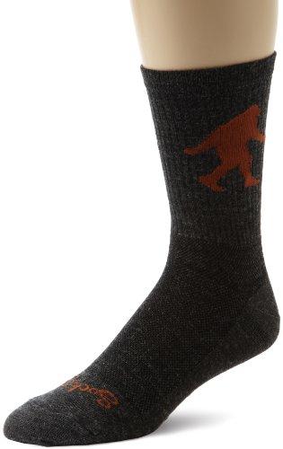 SockGuy Socken, Crew-Länge Größe L Wool Sasquatch