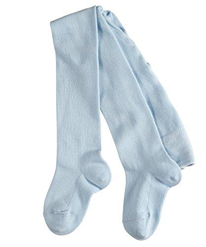 FALKE Babys Strumpfhosen / Leggings Family - 1 Paar, Gr. 74-80, blau, blickdicht, Baumwolle Komfortbündchen, hautfreundlich, Mädchen Jungen