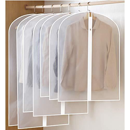 BayLee 6 Stücke Kleidersack Kleiderhülle Anzughülle inkl 2 X 60*80cm und 2 X 60*100cm und 2 X...