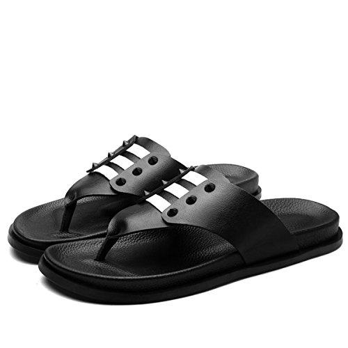 Miyoopark , Sandales pour homme Noir