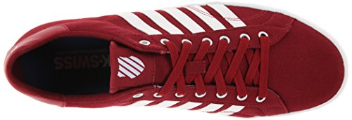 K-Swiss  BELMONT SO T, Baskets pour homme Rouge - Red (Red/White)