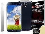 TECHGEAR LCD-Schutzfolie für Samsung Galaxy S4 Mini i9190 / i9195 (matt, anti-reflex) 3 Stück