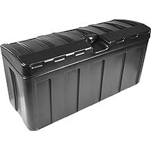 Deichselbox / Staubox für PKW Anhänger, zum Transport von Werkzeugen & mehr, Abschließbar und WETTERBESTÄNDIG (63 x 24 x 31.5 cm)