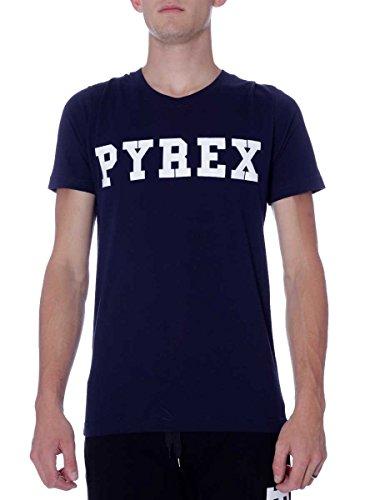 Pyrex Herren T-Shirt Einheitsgröße Blau