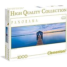 Clementoni 39330 - HQC Panorama Blue Calm Puzzle, 1000 Pezzi