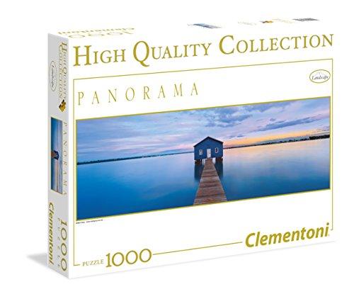 Clementoni - Puzzle de 1000 Piezas, diseño Blue Calm (39330.5)