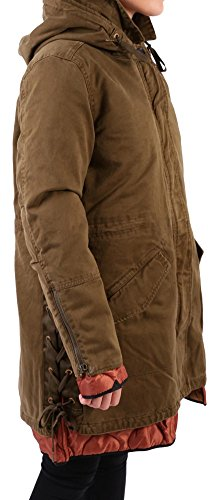 Maison Scotch Damen Parka 140535 Army S