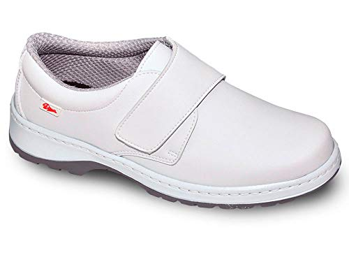 Milan-SCL Liso Color Blanco Talla 39, Zapato de Trabajo Unisex Certificado CE EN ISO 20347 Marca DIAN...