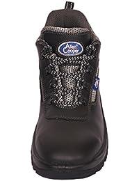Allen Cooper AC 1192 Men's Safety Shoe with Steel Toe Cap, Size 7 UK/India