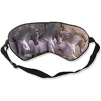Eye Mask Eyeshade Horse Oil Paintings Sleep Mask Blindfold Eyepatch Adjustable Head Strap preisvergleich bei billige-tabletten.eu