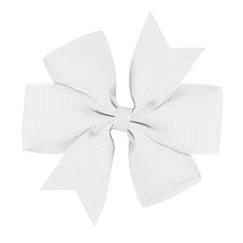 Ruban gros grain alligator Bow Pinwheel Pince à cheveux fleur pour fille bébé enfants cadeau