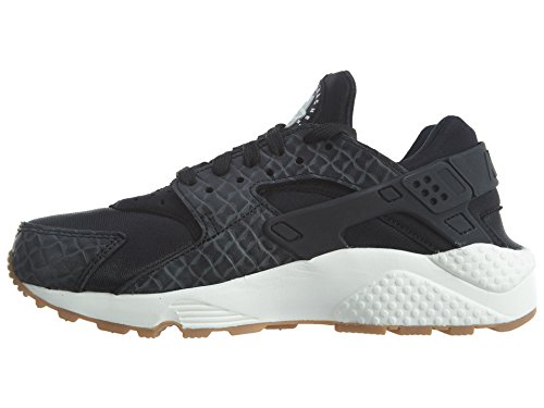 Nike Damen Air Huarache Run Sneaker Schwarz Sail Gum 683818 011 Schwarz
