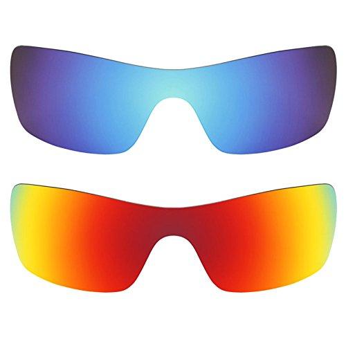 Preisvergleich Produktbild Revant Ersatzlinsen für Oakley Batwolf Polarisiert 2 Paar Kombipack K002