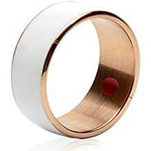 Jakcom R3F Smart NFC Multifunctional Ring 2016 for Android and Windows Phones, Weiß, size 7