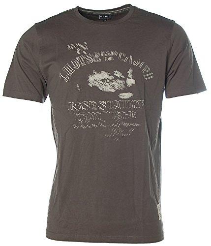 Kitaro Herren T-Shirt -Mt. Everest Lhotse Camp Trekking Exp.- Dark Mauve