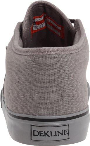 Harper Grey Grey Monks Canvas Skaterschuhe Grey