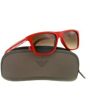Emporio Armani Für Mann 4001 Red / Brown Gradient Kunststoffgestell Sonnenbrillen