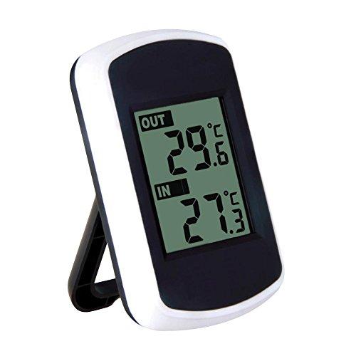 Taoytou Ambient Weather Wireless-Thermometer mit Innen- und Außentemperatur -