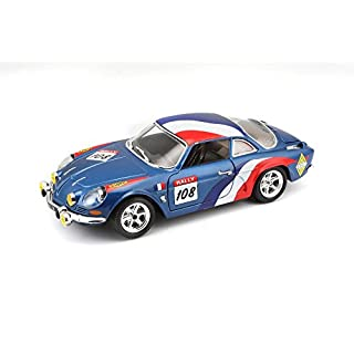 Bburago B18-22022 1:24 Scale The Alpine Renault A110 1600S