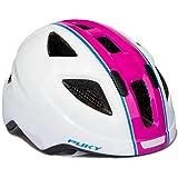 Puky PH 8 - Casco da bicicletta per bambini, 51-56 cm, colore: Bianco/Rosa