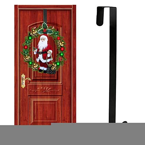 Katurn Türhaken, Weihnachtskranz Türhänger Haken Kranz Hakenhänger