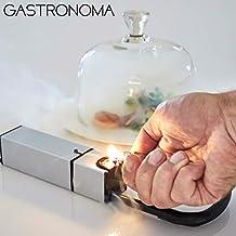 Gastronoma 16310205 Mini Smoker, Räucher-Gerät, Edelstahl Design, Batteriebetrieb